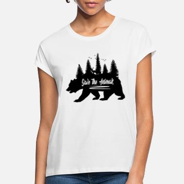 Wildlife Wildlife nature forest animals - Women's Loose Fit T-Shirt