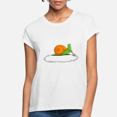 Clever Snail Clever Snail - Women's Loose Fit T-Shirt