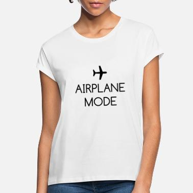 Mode Airplane Mode - Women's Loose Fit T-Shirt