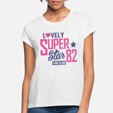 Fan Club Lovely-super-star-fan-club - Women's Loose Fit T-Shirt