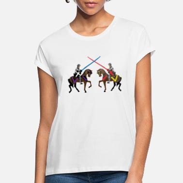 Medieval jousting knights medieval patjila2 - Women's Loose Fit T-Shirt