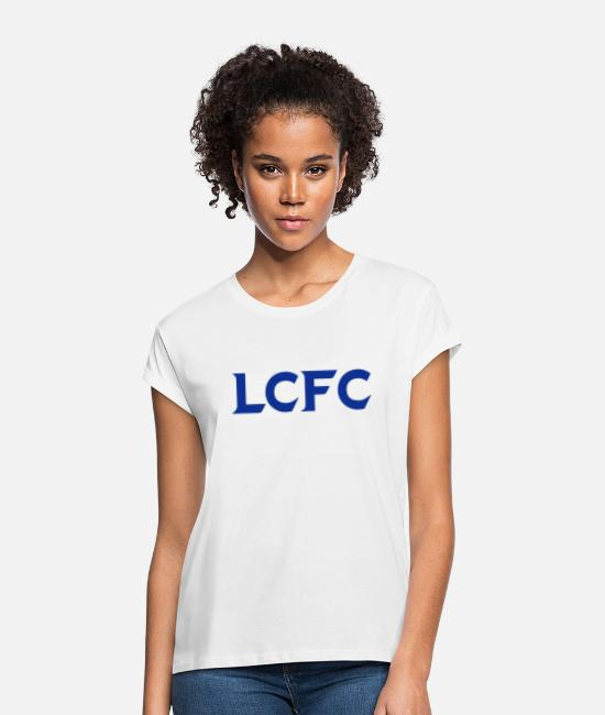 Lcfc T-Shirts - LCFC - Women's Loose Fit T-Shirt white