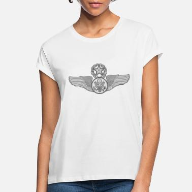 Enlisted MASTER ENLISTED WINGS - Women's Loose Fit T-Shirt