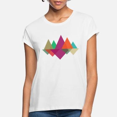 Mountains Geometric Mountains - Women's Loose Fit T-Shirt