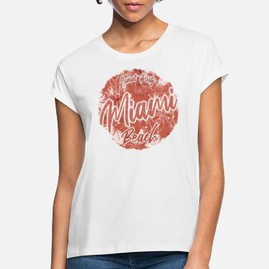 Summer Miami Beach Sunset Party - Women's Loose Fit T-Shirt