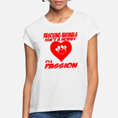 Rescue Rescuing Animals - Women's Loose Fit T-Shirt