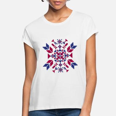 Tradition Traditional embroidery - Women's Loose Fit T-Shirt