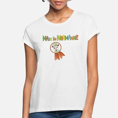Normandy Cow Made in Normandie - Women's Loose Fit T-Shirt