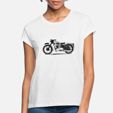Motorcycle Vintage Triumph twin - Women's Loose Fit T-Shirt
