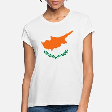 Cyprus Flag of Cyprus - Women's Loose Fit T-Shirt