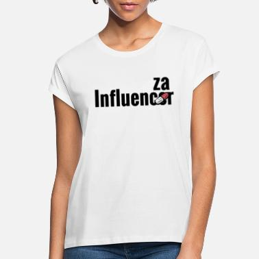 Influenza Influencer becomes influenza with medicine pill - Women's Loose Fit T-Shirt