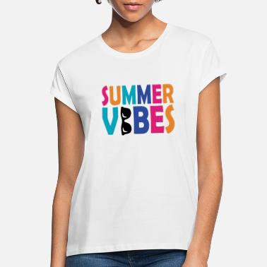 Swim Summer vibes vacation sun gift beach beach - Women's Loose Fit T-Shirt