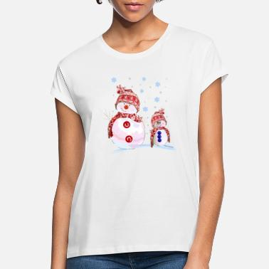 Snowman Snowman - Women's Loose Fit T-Shirt