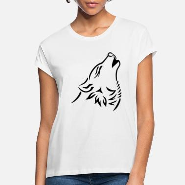 Snake Wolf - Women's Loose Fit T-Shirt