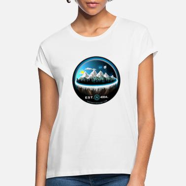 Flat Earth EST 4004 Shirt - Women's Loose Fit T-Shirt