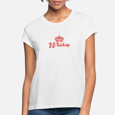 Whiskey Whiskey Queen Cute Women's Retro - Women's Loose Fit T-Shirt