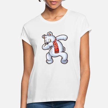 Dabbing Christmas Ice-Bear Graphic Gifts Christmas - Women's Loose Fit T-Shirt