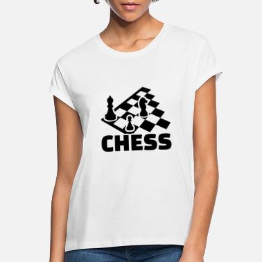 Chess Board chess boards - Women's Loose Fit T-Shirt