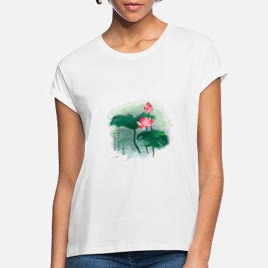 Chinese Culture lotus flower Chinese culture - Women's Loose Fit T-Shirt