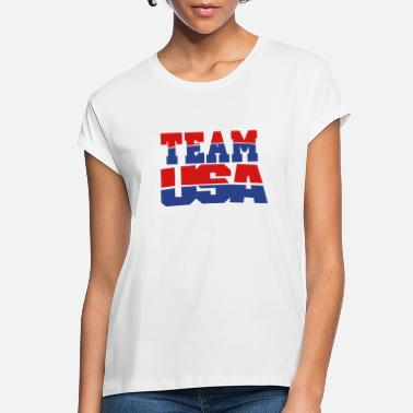 Team Usa TEAM USA - Women's Loose Fit T-Shirt