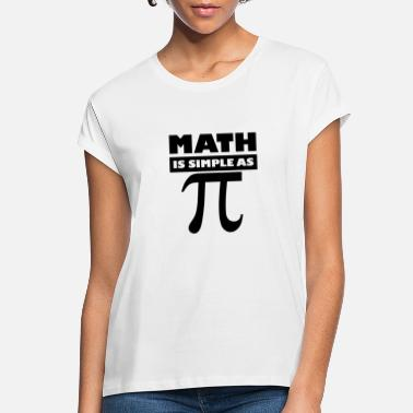 Operations Director Funny Math Is Simple As Pi Funny Math Pun Gift For Pi D - Women's Loose Fit T-Shirt