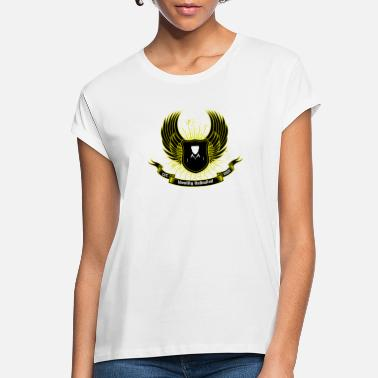 Identity Unlimited Black Shield - Women's Loose Fit T-Shirt