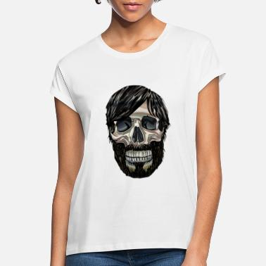 Graphic Art Cool Graphic art Skull - Women's Loose Fit T-Shirt