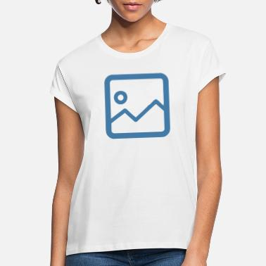 Image Image Icon - Women's Loose Fit T-Shirt