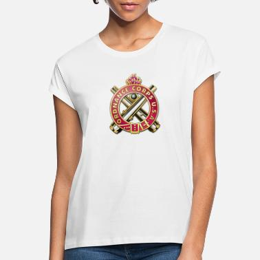 Military Insignia Ordnance Corps Regimental Insignia - Women's Loose Fit T-Shirt