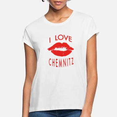 Chemnitz I LOVE CHEMNITZ - Women's Loose Fit T-Shirt