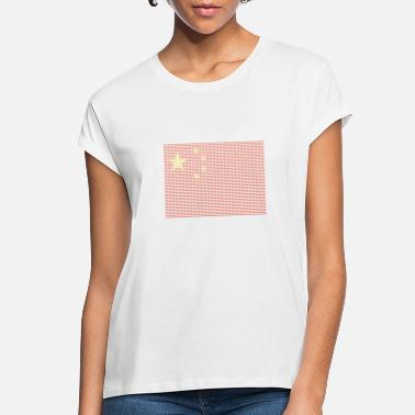 Chinese Flag Beijing Asia Orient - Women's Loose Fit T-Shirt