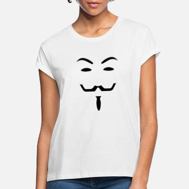 Anonymous Anonymous black - Women's Loose Fit T-Shirt