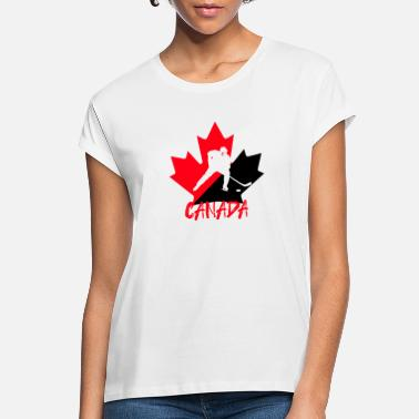 National Team Canada National Team Hockey - Women's Loose Fit T-Shirt
