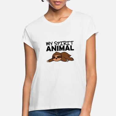Sloth sloth animal sleep - Women's Loose Fit T-Shirt