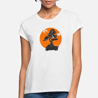 Tree Miyagi Banzai Tree Karate Kid Patch - Women's Loose Fit T-Shirt