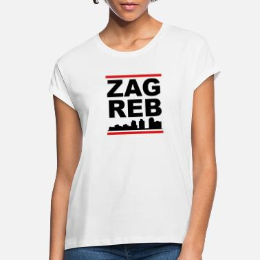 Zagreb Zagreb - Women's Loose Fit T-Shirt