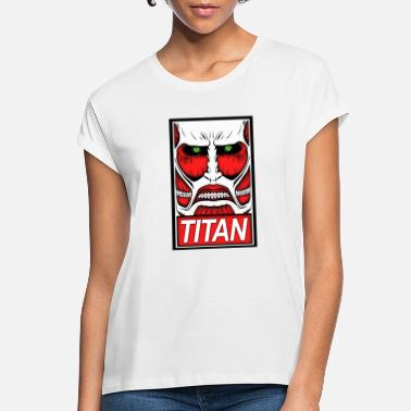 Titan Obey The Titan - Women's Loose Fit T-Shirt