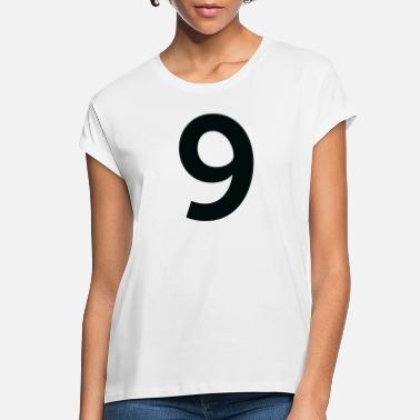 Number Sport Number 9 Nine - Women's Loose Fit T-Shirt
