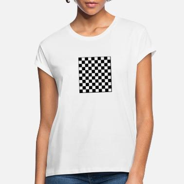 Checkerboard checkerboard - Women's Loose Fit T-Shirt