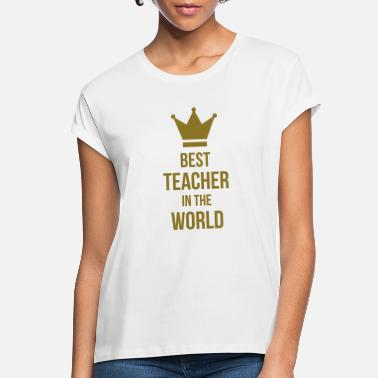 Prof School Teacher Ecole Prof Professor Diploma - Women's Loose Fit T-Shirt