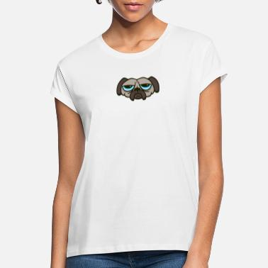 Unhappy Unhappy Pug - Women's Loose Fit T-Shirt