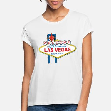 Vegas Welcome-to-Las-Vegas-Dist - Women's Loose Fit T-Shirt