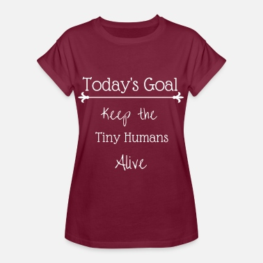 A Tiny Human Tiny Humans - Women's Relaxed Fit T-Shirt