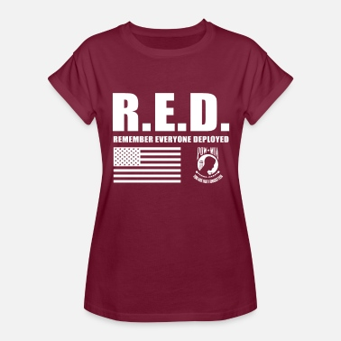 Wear Red On Friday Red Friday Wear Red On Friday - Women's Relaxed Fit T-Shirt