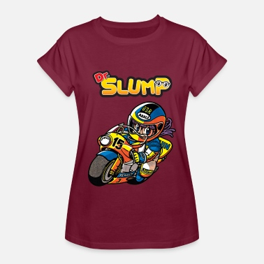 Dr. Slump Arale The Racer - Women's Relaxed Fit T-Shirt