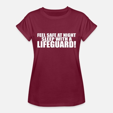 Funny Lifeguard LIFEGUARD - Women's Relaxed Fit T-Shirt