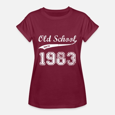 1983 Funny 1983 - Women's Relaxed Fit T-Shirt