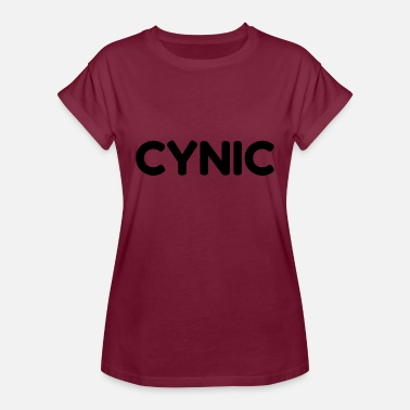 Cynical Jokes Cynic - Women's Relaxed Fit T-Shirt