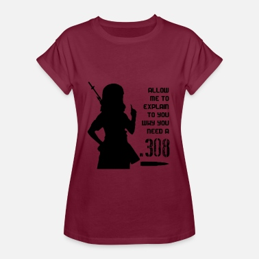 Fangirls .308 Fangirl - Women's Relaxed Fit T-Shirt