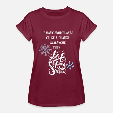 Avalanche Progressive Snowflake Avalanche Shirt - Women's Relaxed Fit T-Shirt